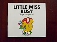 Little Miss Busy by Roger Hargreaves Paperback, 1990