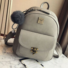 Women's Leather Backpack Travel Handbag Satchel Rucksack Shoulder School Bag USA