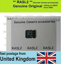 Genuine SanDisk M2 - 2GB Memory Card For Sony Ericsson, older Xperia, PSP GO