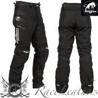 Furygan Duke Noir Étanche Moto Motocycle Pantalon avec D3O Protection