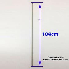 3m x 3m Gazebo Replacement/Parts: Metal Strut 104cm White 1904.