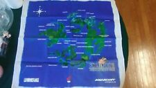 Final Fantasy VIII Cloth Map Rare EB Games Squaresoft FFVIII