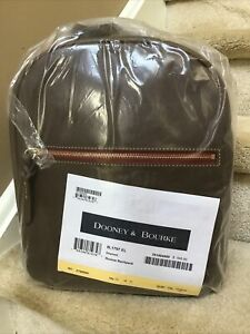 Dooney & Bourke Florentine Ronnie Backpack in ELEPHANT (Factory Sealed)
