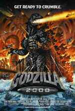 Godzilla 2000 Poster 02 A2 Box Canvas Print