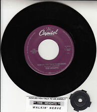 "THE HEIGHTS How Do You Talk To An Angel  7"" 45 rpm record + juke box title strip"
