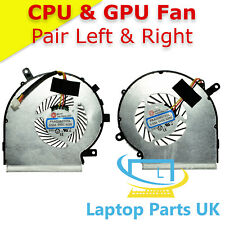 CPU and GPU Cooling Fan for Msi GE62 GE62VR GE72 Laptop Spare Part