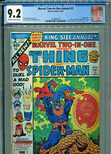 Marvel Two-In-One Annual #2 (1977) CGC Graded 9.2 - Thanos