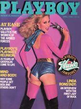 PLAYBOY APRIL 1980 Shari Shattuck Liz Glazowski LindaRonstadt DeepThroat RC NoCF