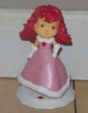 "2006 Playmates Strawberry Shortcake 3.5"" PVC Figure Cake Topper"