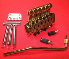Guitar Parts FLOYD ROSE Locking Tremolo Bridge - LOW PROFILE - GOLD