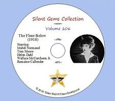 """DVD """"The Floor Below"""" (1918) starring Mabel Normand, Classic Silent Comedy-Drama"""
