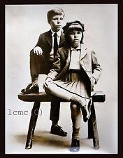 FOTOGRAFIA PRESS PHOTO VINTAGE LADY SARAH ARMSTRONG-JONES E DAVID DI LINLEY