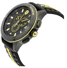 Scuderia Ferrari Race XX Chronograph Mens Watch Black - Yellow *BRAND NEW *