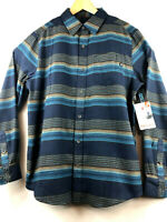 Marmot Mens Enfield Midweight Flannel LS Long Sleeve Shirt Size Medium Blue $75