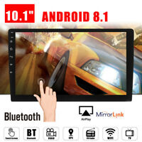 10.1 Android 8.1 Car Stereo Radio GPS Navi Double 2 DIN MP5 NO DVD Player Wifi