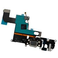 iPhone 6 Dock Connector Ladebuchse Lightning Mikrofon Audio Flexkabel schwarz