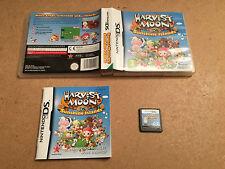 Harvest Moon Sunshine Islands - Nintendo DS (NDS) TESTED/WORKING