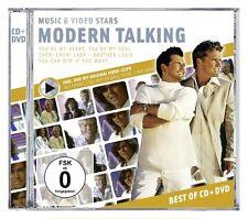 MODERN TALKING - MUSIC & VIDEO STARS CD+DVD NEU