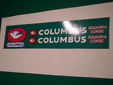 "COLUMBUS ""Squadra corse"" decal set. frais artwork from originals. rien de mieux!"