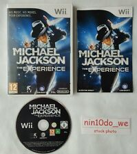 MICHAEL JACKSON l'expérience-Wii Jeu+U-danse 2 26 Hits=Bad+Thriller=NEAR MINT