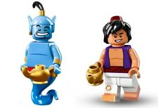 ALADDIN & GENIE - LEGO DISNEY SERIES 1 MINIFIGURES (71012)- NEW / FACTORY SEALED