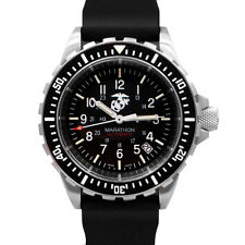 Marathon USMC GSAR US Government Military Dive Diver Watch 2-year warranty NEW!