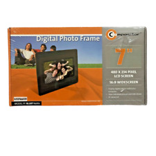 "DIGITAL PHOTO FRAME 7"" INCHES BY COMPOSITOR BLACK NEW & BOXED"