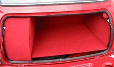 Rivestimento completo rosso per baule cofano post. Mini Austin Innocenti Rover