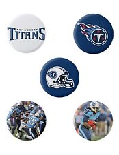 Tennessee Titans Button Set (5) 1 1/4''