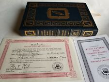 Charles Osgood FUNNY LETTERS FROM FAMOUS PEOPLE Signed Easton Press 1st Edition