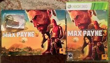 Max Payne 3 Collector's Edition With Bullet Keychain