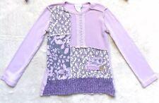 Naartjie Sweater, Size 4 Girls, Purple, Floral, Lavender, Plum, Rare & VHTF!