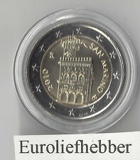 San Marino   OFFICIAL UNCIRCULATED 2 EURO COIN    2010    IN STOCK