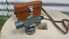 HILGER WATTS SL10-1 SURVEYORS LEVEL THEODOLITE WITH LEATHER CASE.