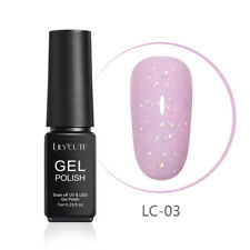 LILYCUTE 7ml Glitter Gel Nail Polish Shimmer Pink Colors Soak Off UV Gel Varnish