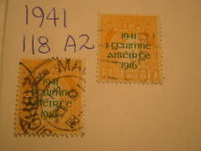 Ireland Stamp 1941 Scott 118 A2 Overprint Easter Uprising Set 2