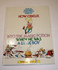 How OBELIX Fell Into The Magic Potion - 1st edizione ottime condizioni-UDERZO