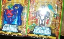 DC UNIVERSE CAPTAIN ATOM AND MARTIAN MANHUNTER MOCS
