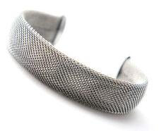 Men Women's Unisex Stainless Steel Bracelet Adjustable Size