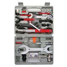 46tlg Fahrrad Werkzeugkoffer Werkzeugtasche Werkzeug Bike Reparatur Box Satz SE