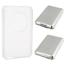 80GB Clear Crystal Hard Case tector Front Back Cover For Apple Ipod   AU Pop~