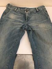 "Diesel Jeans Sz W 32"" x L 30"" 100% cotton Light Blue Denim Boot Cut Bell Bottom"
