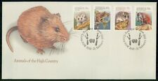 Mayfairstamps Australia FDC 1990 Animals Hight Country Combo First Day Cover wwe