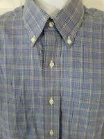 BROOKS BROTHERS Traditonal Fit Non Iron Cotton Button Down Dress Shirt Sz 16- 35