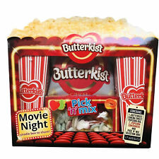 Butterkist Movie Night Selection Box   Popcorn Pick N Mix Sweets Christmas Gift