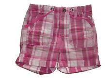 H & M tolle kurze Hose / Shorts Gr. 98 rosa kariert !!