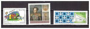 S24255) Brasil 1998 MNH 3 Complete Sets 3v
