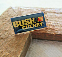 Vtg BUSH CHENEY 2000/4 George W/Dick Presidential Campaign Collectible Lapel PIN