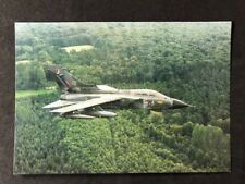 Vintage Real Photo Postcard: Air #A110: No 17 Squadron Tornado GR1 RAF Bruggen