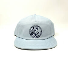 Vans X Spitfire Baby Blue Light Baseball Cap New Hat Snapback